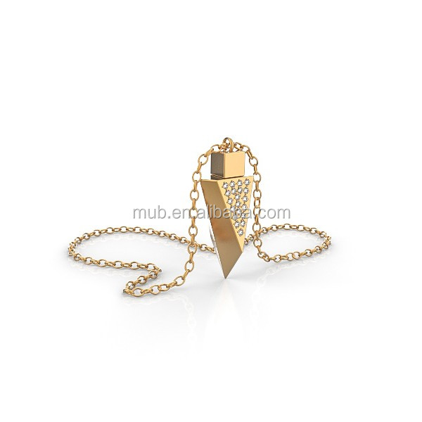 MUB Yujin company personalized necklace with gold chain necklace designs, wholesale costume jewelry