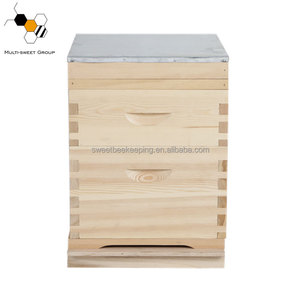 Beekeeping equipment wooden 8 10 frames beehive australian bee hives box for sale