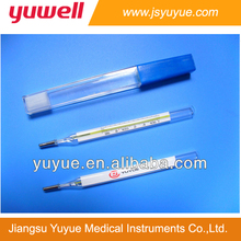 Armpit use Clinical Thermometer oval type