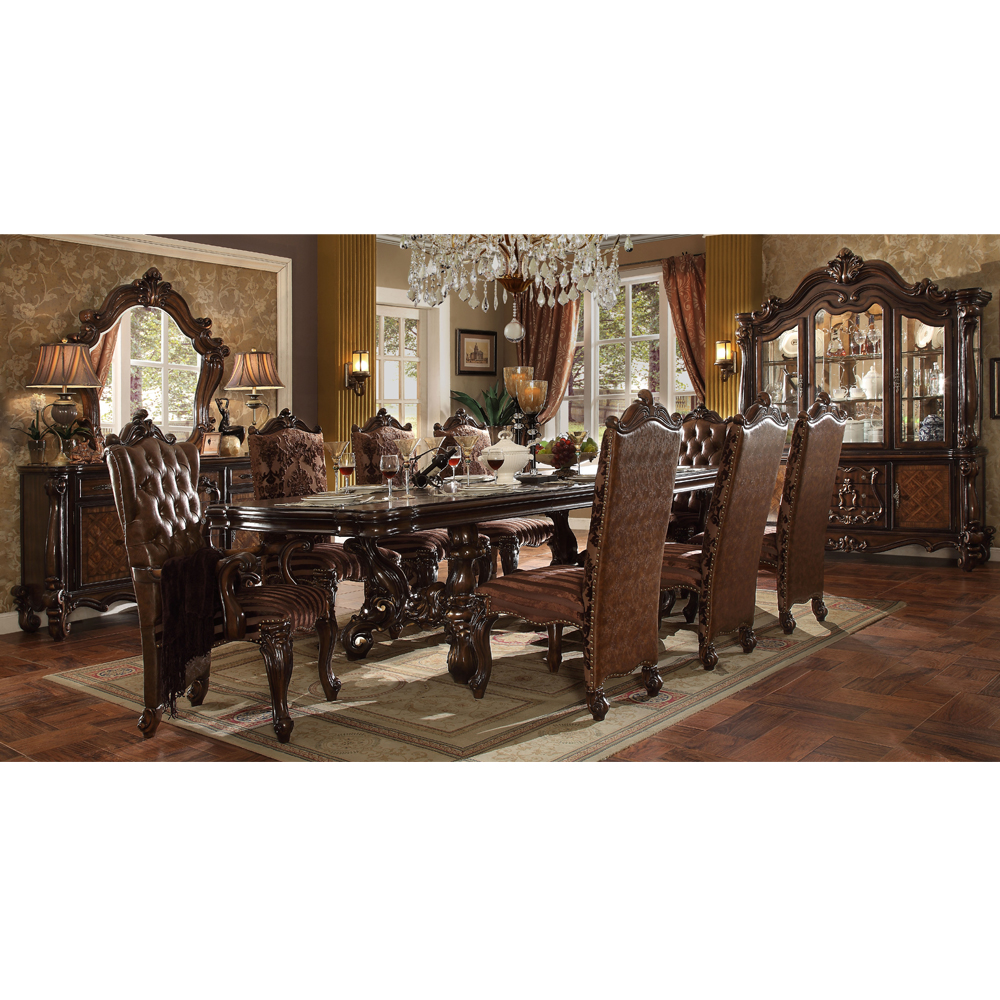 American Style Heavy-duty Dining Table And Chairs - Buy American Style  Heavy-duty Dining Table And Chairs,10 Seater Dining Table,Long Dining Table  ...
