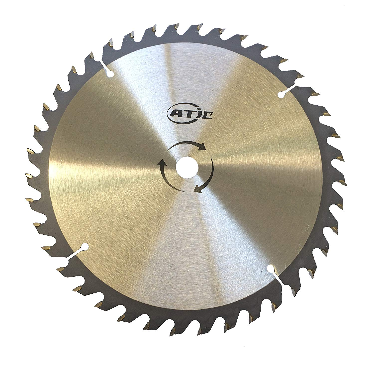 "9"" 40 Tooth Carbide Tip General Purpose Wood Cutting Circular Saw Blade with 5/8"" Arbor"