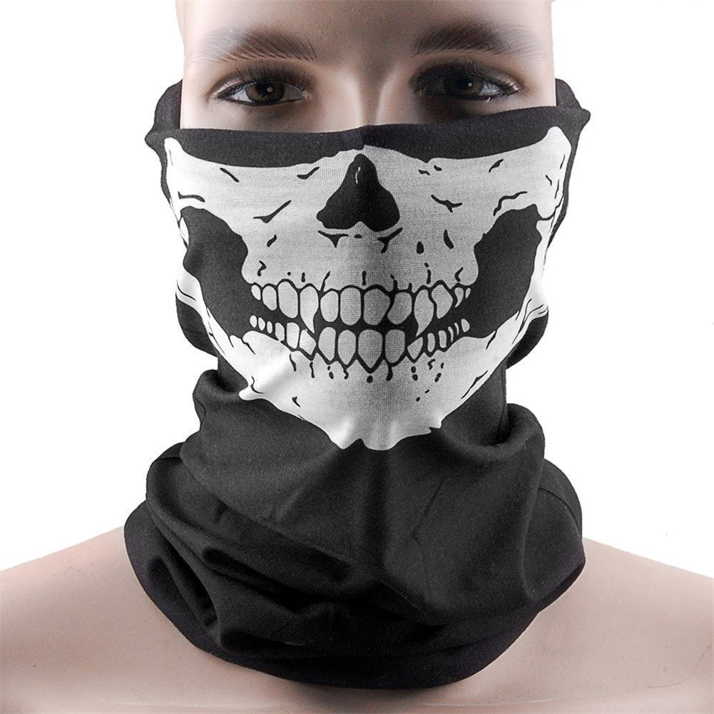 Mask Bike Bicycle Cycling Helmet Neck Face Mask Half Face Sport Headband
