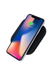 Cell Phone Fast Charge Charging Mat Pad Induction 10W Qi Wireless Charger For Iphone X And Iphone 8