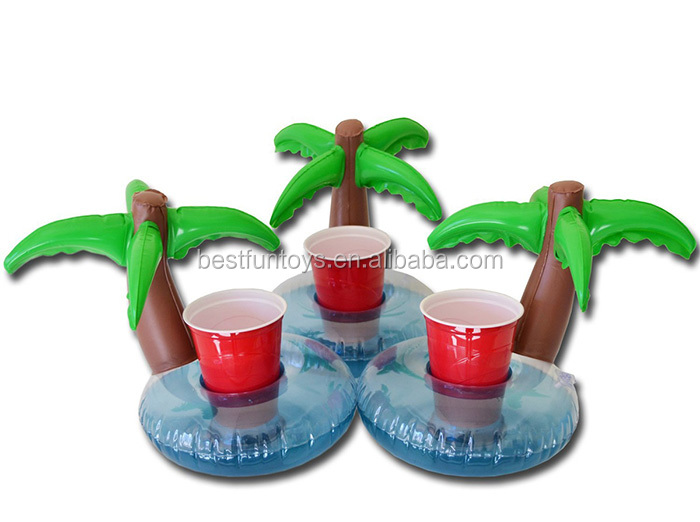 Promotional Premium Gifts Custom Pvc Inflatable Palm Tree Float ...