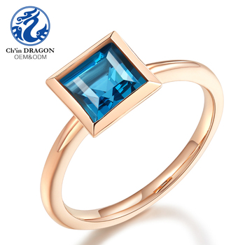 Simple 18 K Gold Plated Ring Jewelry Designs Wedding Ring Gold