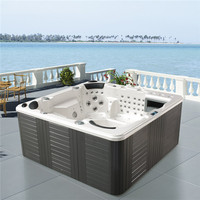 Monalisa china supplier new hot tub with massage