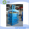 hydraulic vertical textile used clothing rag cotton baling press machine