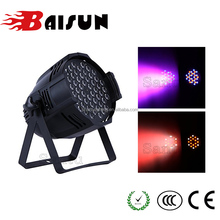 High Brightness LED RGBW Par Light 54*3 W, Bright LED Par Stage Light , PAR led RGB