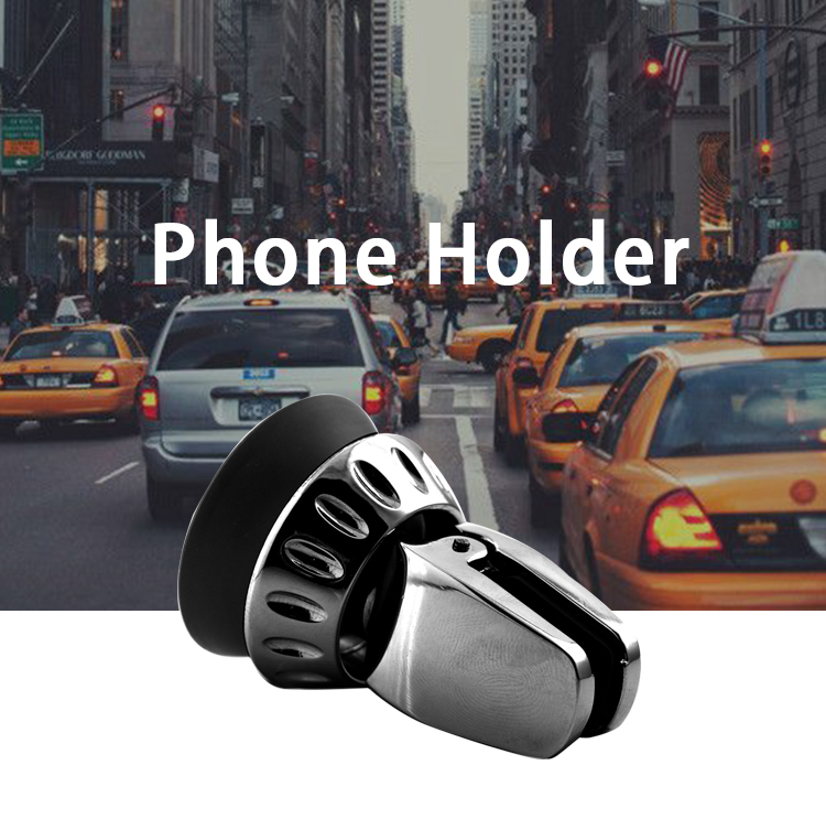 SJ-T-094 Anti slip  holder cell phone cd slot car case phone holder clamp