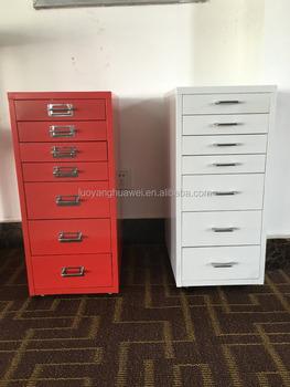 New Design 7 Drawer Vertical Steel Archive Bulk File Cabinet Lockable Storage
