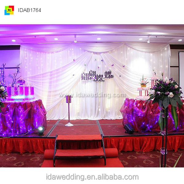 salon decorating ideas/event planning/paillette in fabric