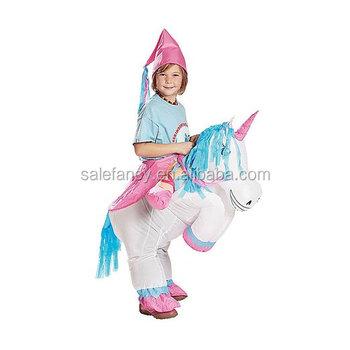 Kids Girl Inflatable Unicorn Costume Qbc,2325 , Buy Inflatable  Costume,Unicorn Costume,Inflatable Unicorn Costume Product on Alibaba.com