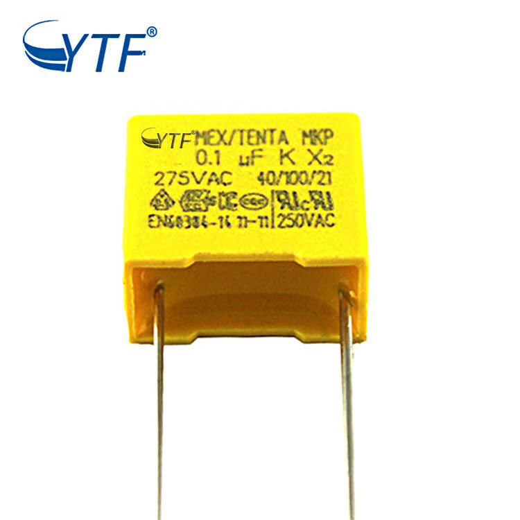 Supply Film 10% Best Price Food Grade Type Mkp X2 Capacitor 275v 0.1uf