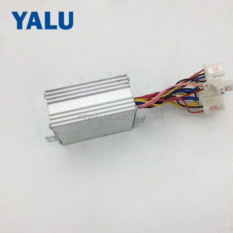24V 350W DIY Electric bicycle gear motor matched Brush DC Controller