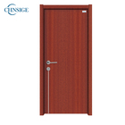 Customized soundproof hotel bathroom flush entry wpc room doors Composite french wooden door Interior for Hotel