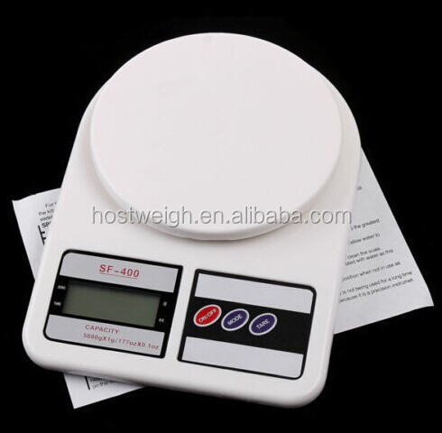 weighing measuring food scale Digital kitchen scale SF-400