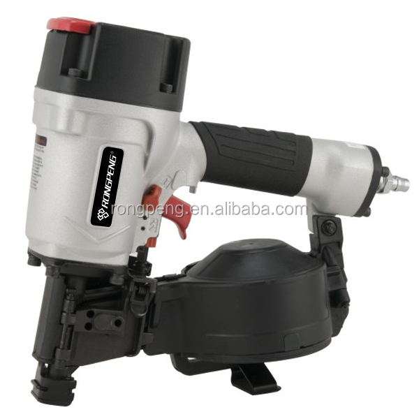 China High Industrial Qulity RongPeng 2016 Best New CN45RN Pneumatic Coil Roofing Nailer