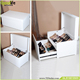Fashion wholesale custom drop front shoe box from Goodlife