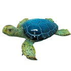 Logo Customization Crafts Gifts Statues Polyresin Animal Sea Turtle Sculpture Turtles Resin Gifts and Crafts Statues