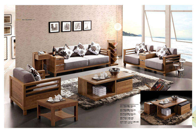 room furniture sofa sets living room wooden sofa set contemporary