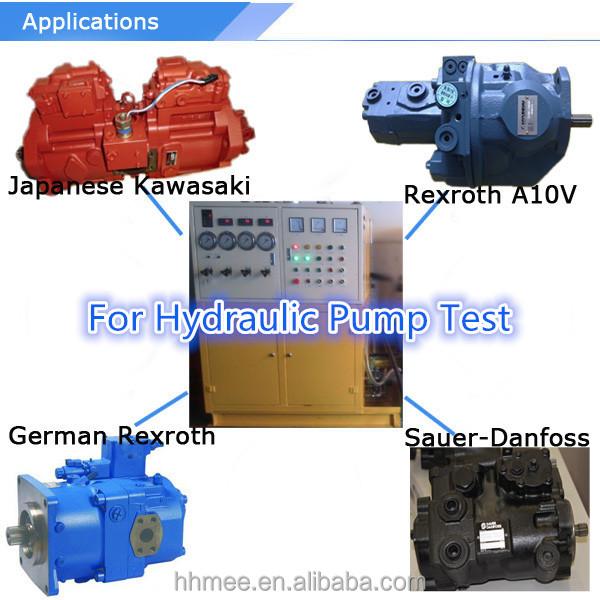 Hydraulic pump motor test bench skydrol hydraulic test Hydraulic motor testing