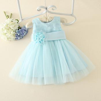 Hot Baby Girls Party Dress/kids Clothes Girls Wedding Dress/beaded ...