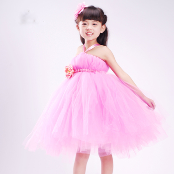 New Arrival Purple Fairy Frocks Pretty Princess Dresses Tulle Puffer