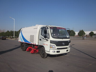 China new foton 4m3 sweeping truck for sale with low price