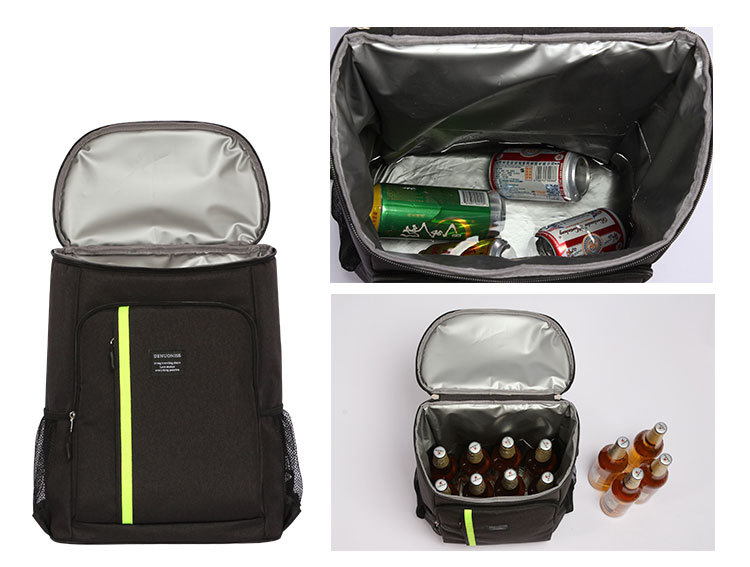 In stock portable cooler backpack bag insulated lunch cooler bag