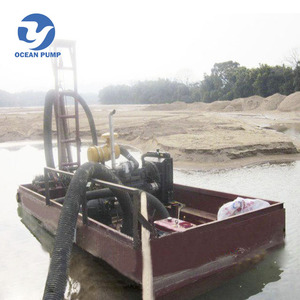 Small dredging machine barges for sale
