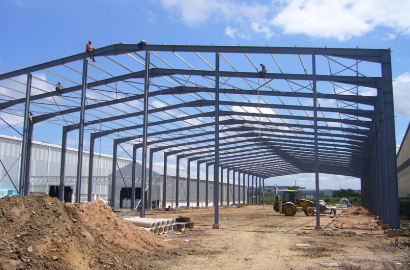 dome roof steel warehouse