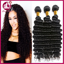 Alibaba Stock Price 7A Grade Hot sale High Quality virgin peruvian human hair extension loose deep wave