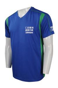 100% Polyester Dri-fit Sublimation Blue Color Men T Shirt