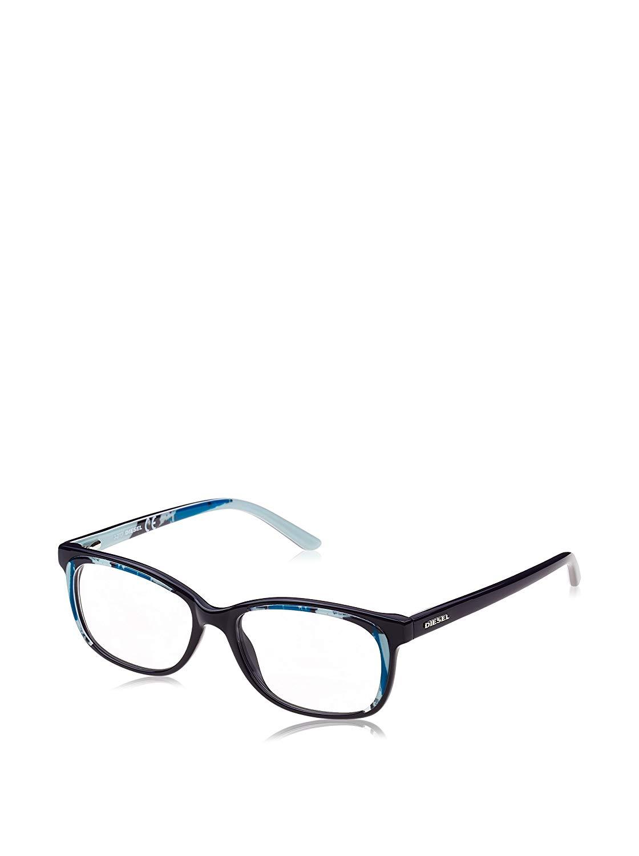 Diesel Rx Eyeglasses Frames DL5008 092 51-16-140 Blue Aqua Spotted