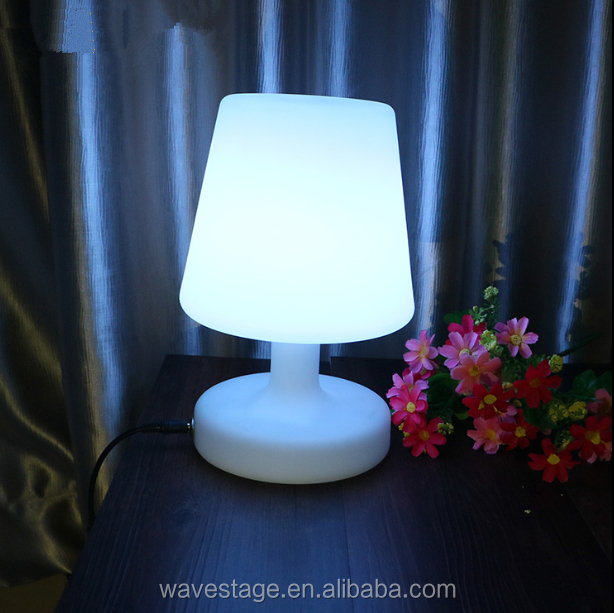 colors change indoor battery operated Rechargeable led table lamps