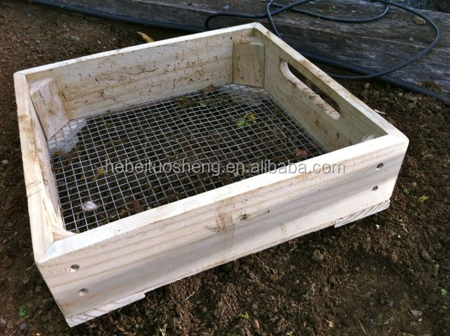 Wooden Garden SieveRiddles 9mm Mesh Hole Buy Wooden Garden
