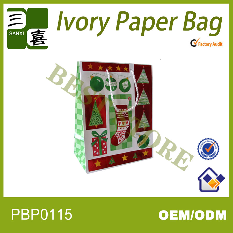 Happy birthday gift paper bags decorative