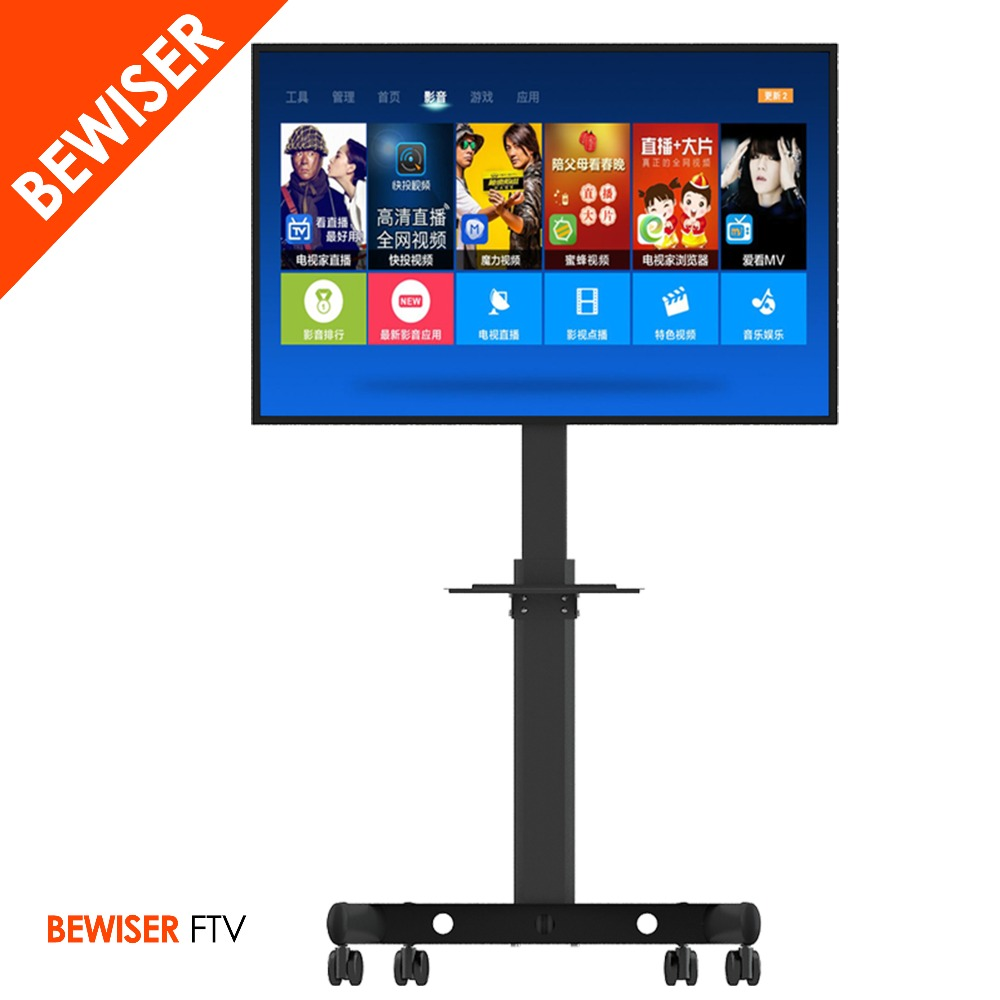 Movable Tv Stand Mounttv Cart Standportable Tv Stand With Wheels