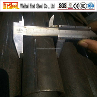 Hollow Welded Casing Pipe Steel Tube Price For Industry