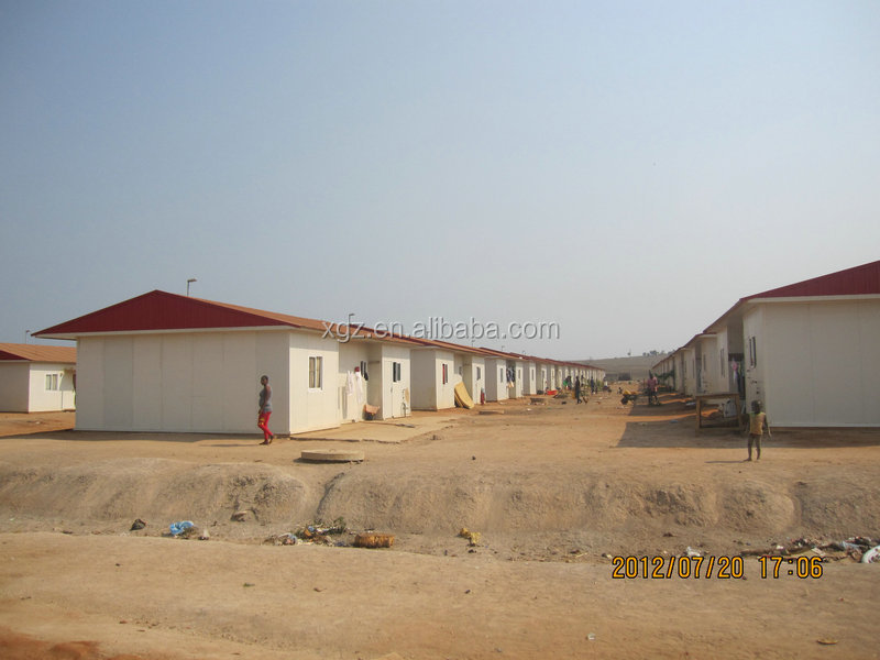 cheap assembled light steel prefab houses sandwich panel for sale