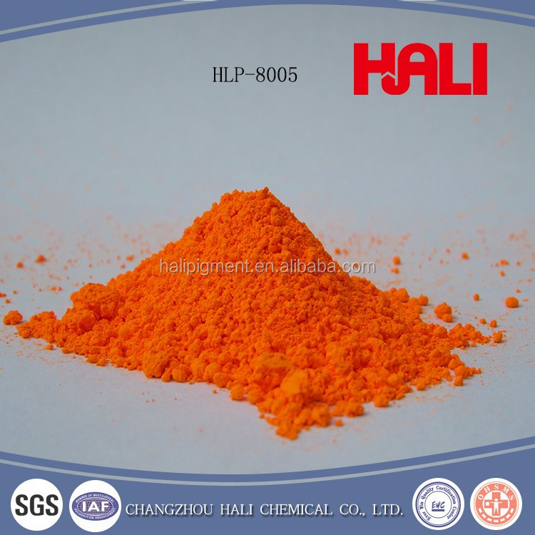 From HaLi Made in China hot sell fluorescent pigment organic