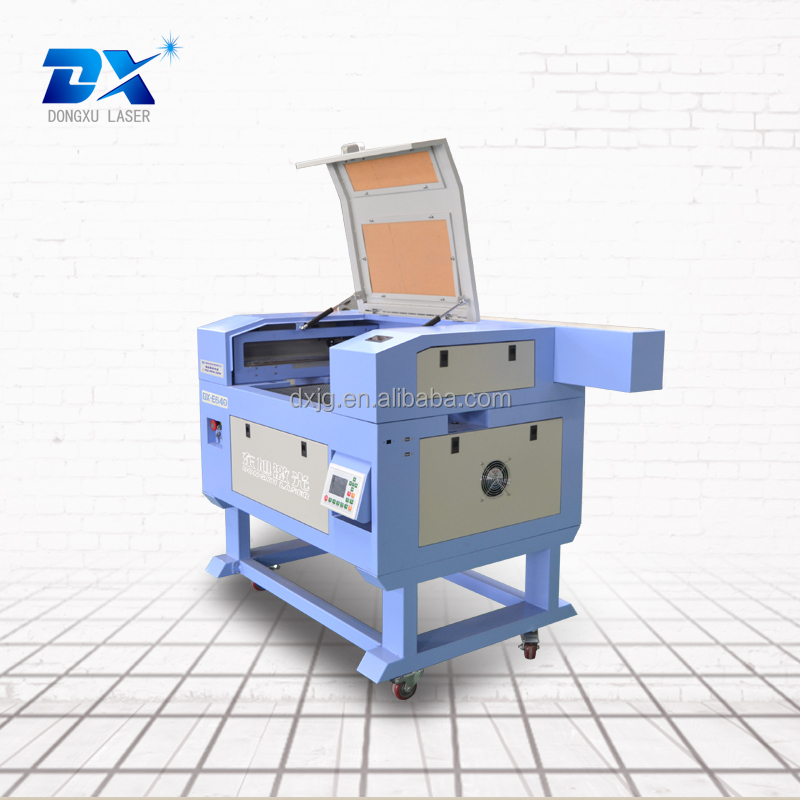 Small size factory price DX-E640 entry level laser engraving cutting machine for wood crafts process