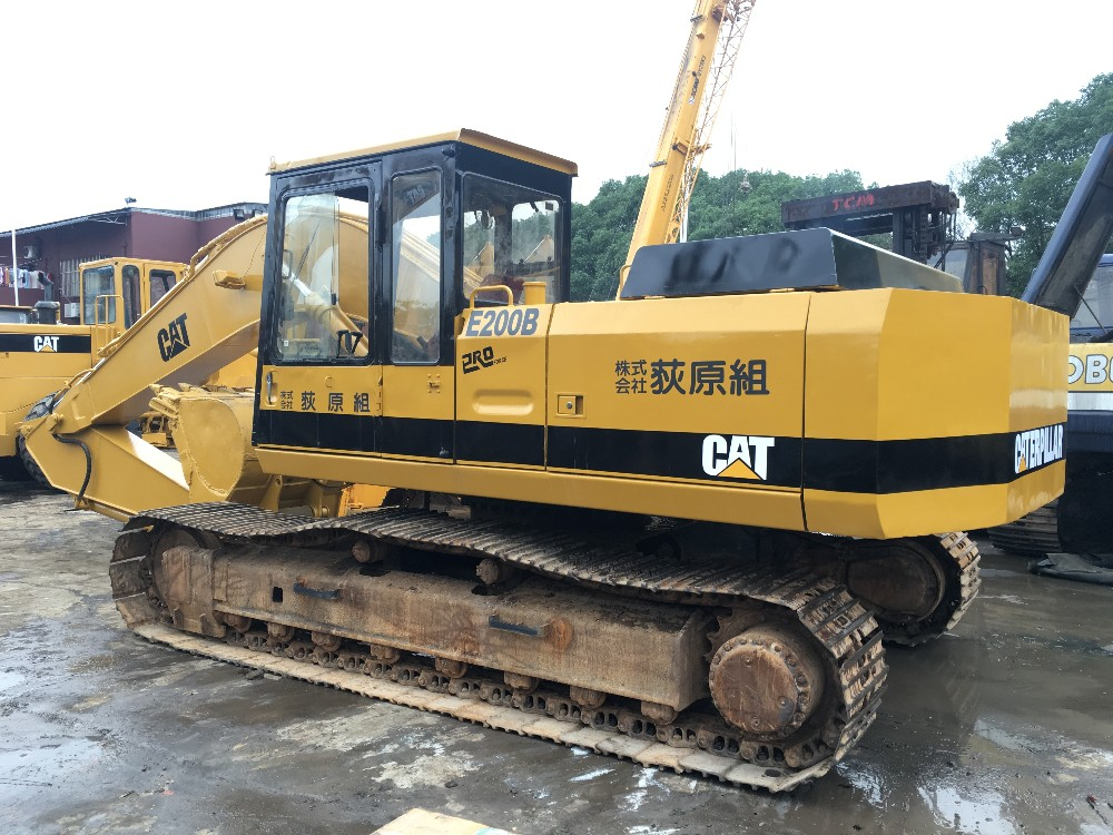 Selling Original 0 7m3 Japan Excavator Cat E200b With Original Engine 3306  Fit For Bangladesh Users - Buy Used Cat Excavator,Used Cat E200b
