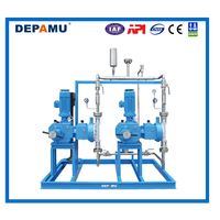 metering pump skid for oil wells & chemical package