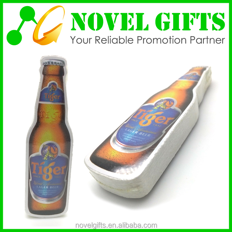 Beer Promotion Gifts Cheap Beer Bottle Shape Compressed Magic Towel