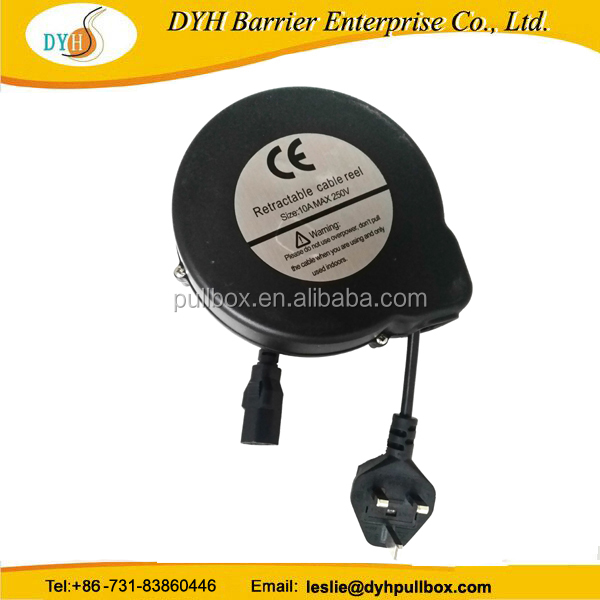 5M cable reel retractable for tv, take-up reel cable