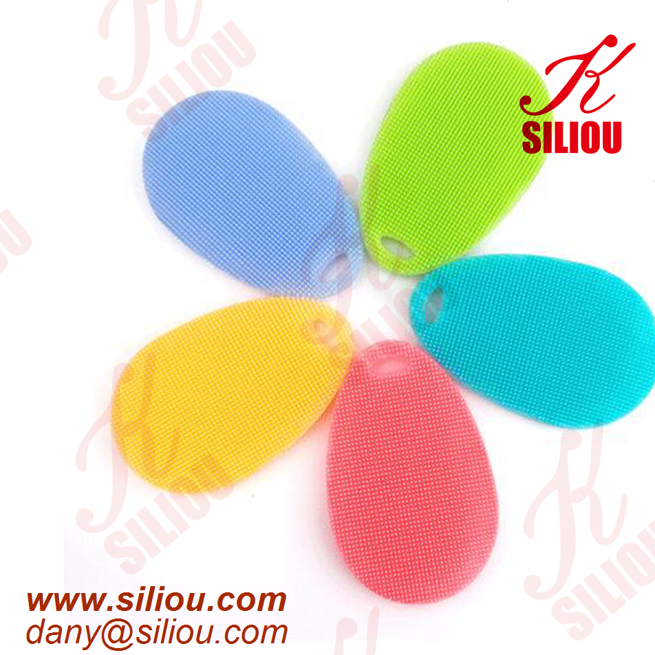 essy clean soft silicone dish washing scrubber multifuction eco friendly dish washing sponges