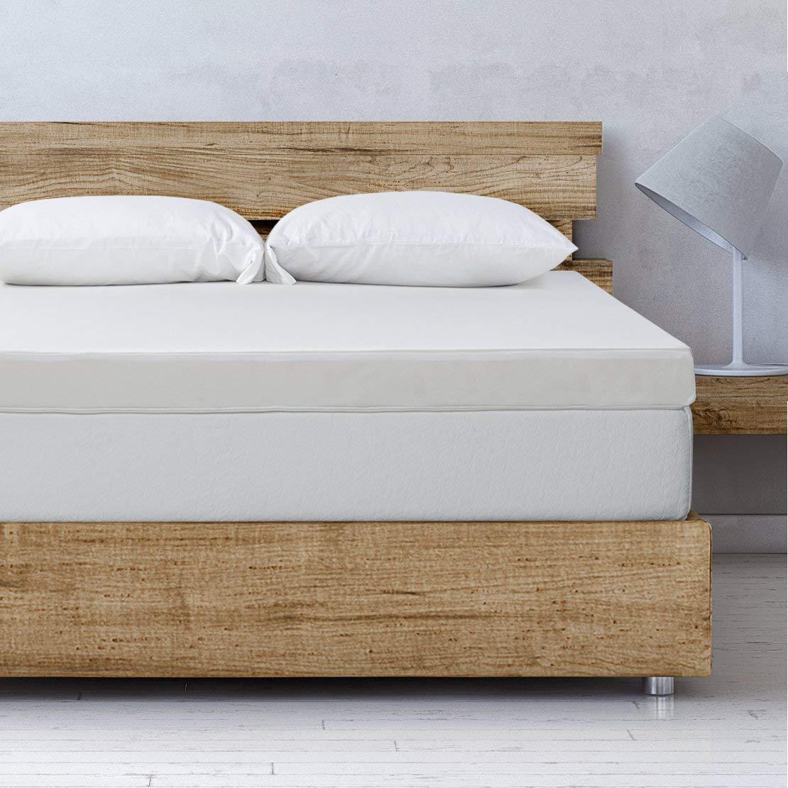 Best Price Mattress Twin Mattress Topper - 4 Inch Memory Foam Bed Topper Cover Cooling Mattress Pad, Twin Size