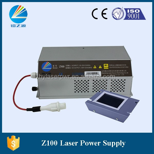 HY Laser Power Supply Z100 for RECI/Yongli/SPT/EFR 100W CO2 Laser tube