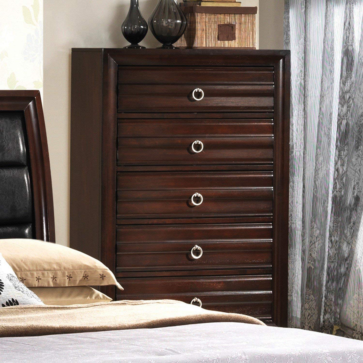 Get Quotations · Mahagony Chest Of Drawers + Expert Guide